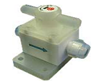 PTFE valve, 80°C, for high purity chemicals applications
