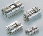 Compact Air Gripper with Linear Guide